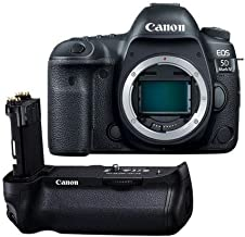 Canon EOS 5D Mark IV DSLR Body BG-E20 Battery Grip