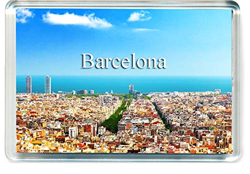 H235 Barcelona Imán para Nevera Spain Travel Fridge Magnet