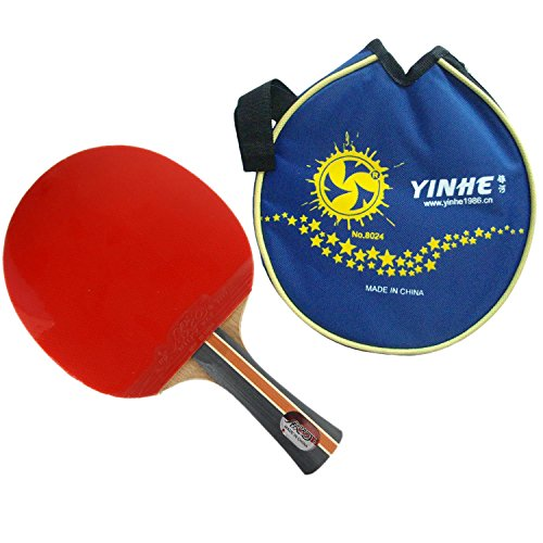 Great Features Of YINHE Galaxy Milky Way 04B Shakehand Long Handle FL Pips in Table Tennis Racket wi...