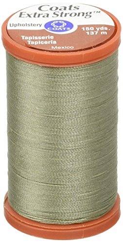 Coats: Thread & Zippers Extra Strong Upholstery Thread, 150-Yard, Green Linen
