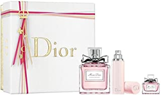 Miss Dior Blooming Bouquet 3-Piece Perfume Gift Set for WOMEN (100 ml EDP Spray, 10 ml Travel Spray, 5 ml EDP Miniature)