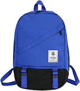 Leng QL Personality Backpacks Hip Hop Style Teenager Couple Leisure Traveling Computer Backpack
