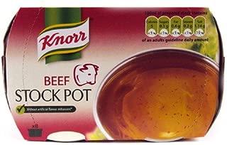 Knorr Beef Stock Gel Pots 8 Pack 224g