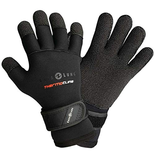 Aqualung 5mm Men's Thermocline Kevlar Dive Gloves (Small)