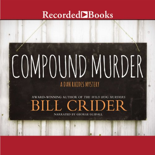 Compound Murder audiobook cover art