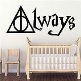 ganlanshu Colorido extraíble Etiqueta de la Pared Etiqueta de la Pared del Arte para la habitación del bebé niño Dormitorio Vinilo Mural Pared 42cmx93cm