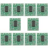 WMYCONGCONG 10 PCS Super Mini PAM8403 Module 2 3W Class D Digital Amplifier Board Amplifier Module Board 2.5-5V Input USB Power Supply