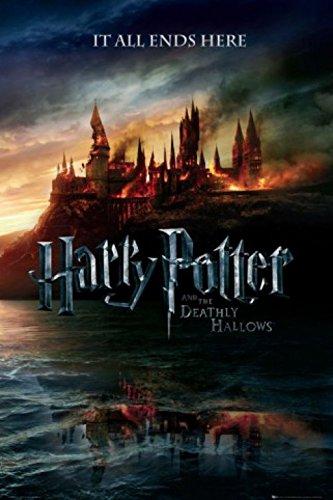 1art1 51159 Harry Potter - 7, Und Die Heiligtümer Des Todes, Teaser Poster (91 x 61 cm)