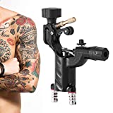 Dragonfly Tattoo Machine Guns Shader Liner Motor rotativo Tattoo Tattoo RCA Cord Artista Herramienta de maquillaje(Negro)