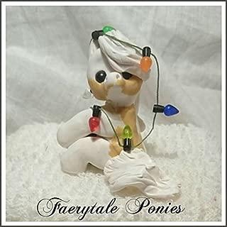 Polymer Clay Pony-Christmas Ornament-Gypsy Vanner Horse