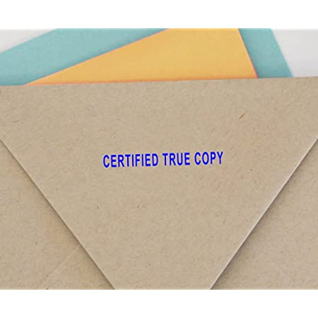 Details about  /Printtoo Rubber Stamp Office Stationary DUPLICATE Self Inking Custom-hoX