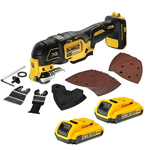 Dewalt DCS355N Oscillating Multi-Tool 18V Cordless Brushless 2X 2Ah Batteries