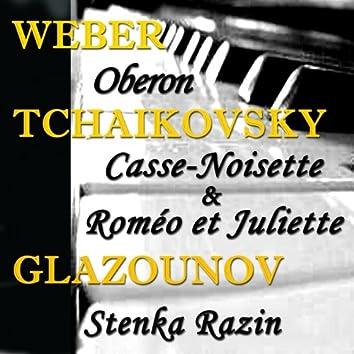 Tchaikovsky: Casse-Noisette & Roméo Et Juliette - Weber: Oberon & Glazounov: Stenka Razin (Original Recordings: 1934-1945)