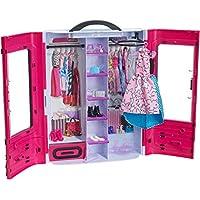 Barbie Fashionista Armario Fashion, accesorios de muñecas, regalo para niñas y niños 3-9 años (Mattel DMT57)