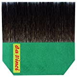 da Vinci Series 500 Gilder Tip Russian Blue Squirrel Hair Single Thickness Paintbrush, Size 100mm