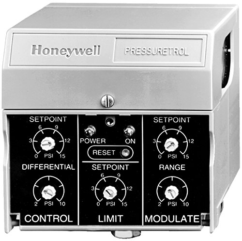 Fantastic Deal! Honeywell, Inc. P7810B1002 Pressure Control, On-Off Control Plus Modulate, 0 to 15 P...