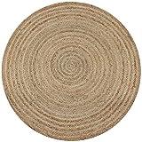 alfombra yute redonda 120