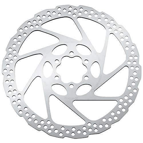SHIMANO Disco 180 mm 6 viti RT56 Solo Resina Ciclismo