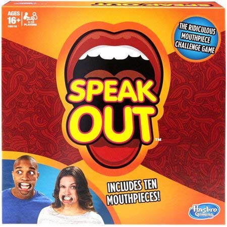 New Speak Out Game Toy Authentic 2018
