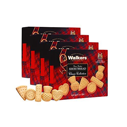 Walkers Assorted Shortbread Cookies, 5.6 Ounces (Pack of 4)
