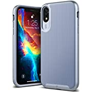 Caseology Wavelength for iPhone XR Case (2018) - Stylish Grip Design - Periwinkle