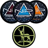 Nip Energy Dip 3 Can Variety Sampler (Wintergreen Ice, Mixed Berry, and Peach) with DC Crafts Nation Skin Can Cover - Deer