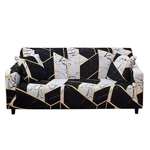 HOTNIU Sofa Überwürfe Sofabezug 1 Sitzer Sesselbezug Elastischer Couchbezug Sofahusse Antirutsch Sofabezüge Sofa Abdeckung Stretch Couch Überzug Sofa Hussen für Sessel mit 1 Kissenbezug, Pattern SK