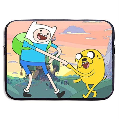 Adventure Time Finn Jak Laptop Sleeve Bag Case,Laptop Briefcase Soft Carring Tablet Travel Case,13 inch