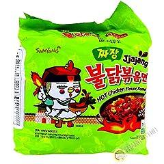 Samyang Jjajang Hot Chicken Ramen Multi 짜장 불닭 볶음면