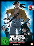 Fullmetal Alchemist: Brotherhood - Volume 5 (Digipack im Schuber mit Hochprägung und Glanzfolie) (2 Disc Set) [Limited Edition] [Alemania] [DVD]