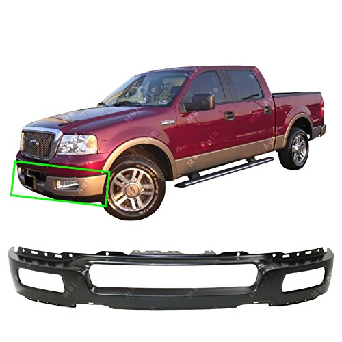 MBI AUTO - Primered, Steel Front Bumper Face Bar Fascia for 2004 2005 Ford F150...