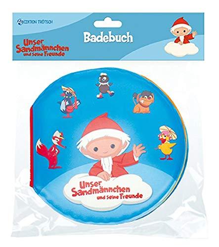 Trötsch Unser Sandmännchen Badebuch: Entdeckerbuch Beschäftigungsbuch Spielbuch Bilderbuch (Badebücher)