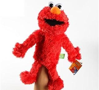 "Sesame Street Elmo Plush Puppet 14"""