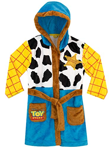 Disney Boys' Toy Story Robe Woody Size 5 Multicolored