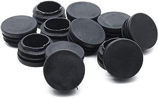 Yoohey 12pcs Plastic Blanking End Caps 32mm Diameter Round Tubing Tube Insert