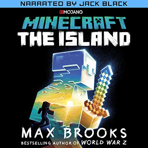 Minecraft: The Island (Narrated by Jack Black) audiobook cover art