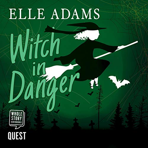 Witch in Danger audiobook cover art