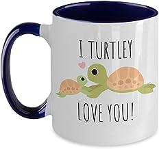 I love you Mug, Mother`s Day Mug, Turtle Mug, Turtle Gift, turtley awesome, turtley love you, turtley in love
