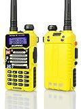 Baofeng Radio US Yellow BF-F9 V2+ 5Watt Tri-Power (1/4/5w)...