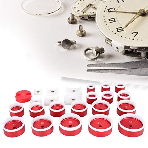 Máquina herramienta para prensar cubiertas de relojes La máquina taponadora ecológica muere estable Fácil de operar A prueba de rayones para talleres de reparación de relojes Material