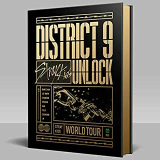 STRAY KIDS WORLD TOUR DISTRICT 9:UNLOCK IN SEOUL DVD FULL PACKAGE K-POP SEALED+TRACKING CODE