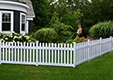Zippity Outdoor Products ZP19002 Fence Newport, 36'H x 72'W, White