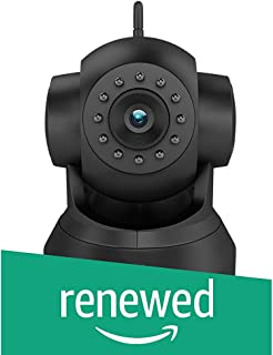 (Renewed) D3D D8801 HD 720P WiFi Home Security Camera 360 PTZ (Black)
