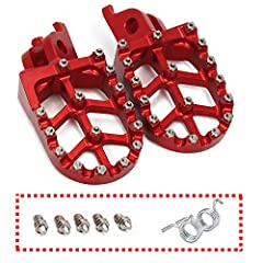 &#10004 Fit For Honda CR125/250 02-07 / CRF150R 07-19 / CRF250R 04-19 / CRF250X 04-19 / CRF250RX 2019 / CRF450R 02-19 / CRF450RX 17-19 / CRF450X 05-19 / CRF450L 2019 / CRF250L/M 12-18 / CRF250RALLY 17-18 &#10004 New fishbone plate design and forged T...
