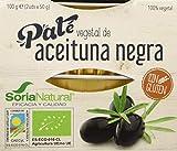 Alecosor Pate Vegetal Aceituna Negra Faja 2 Ud X 50 Gr 100 Gramos Alecosor 200 g