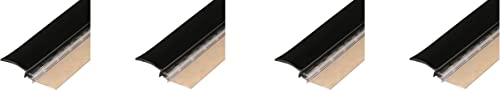 """lowest Sentry Supply Restroom Door Privacy Cover, Black, 2-1/8"""" x high quality 58"""", 2-Pack wholesale – Rigid Plastic and Flexible Vinyl Restroom Stall Gap Filler (4) online sale"""