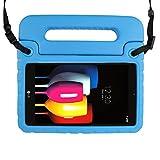 Simpleway Schutzhülle für LG G Pad X 8,0–Kinder Schultergurt Licht Gewicht stoßfest Handgriff Ständer Schutz Cabrio Schutzhülle für LG G Pad X 8,0t-mobile V521/AT und T V520Tablet blau blau