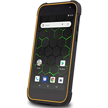 My-Phone Hammer Active 2 LTE Black Orange, Negro/Naranja: Amazon ...