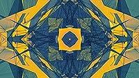 大人のジグソーパズル1000ピースジグソーパズルゴールド万華鏡パターンジグソーパズルゲーム-大人とティーンエイジャーのための大きなパズルゲーム作品