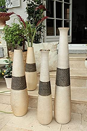 Amazones Jarrones Decorativos De Suelo 50 100 Eur